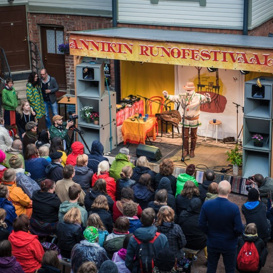 The Annikki Poetry Festival