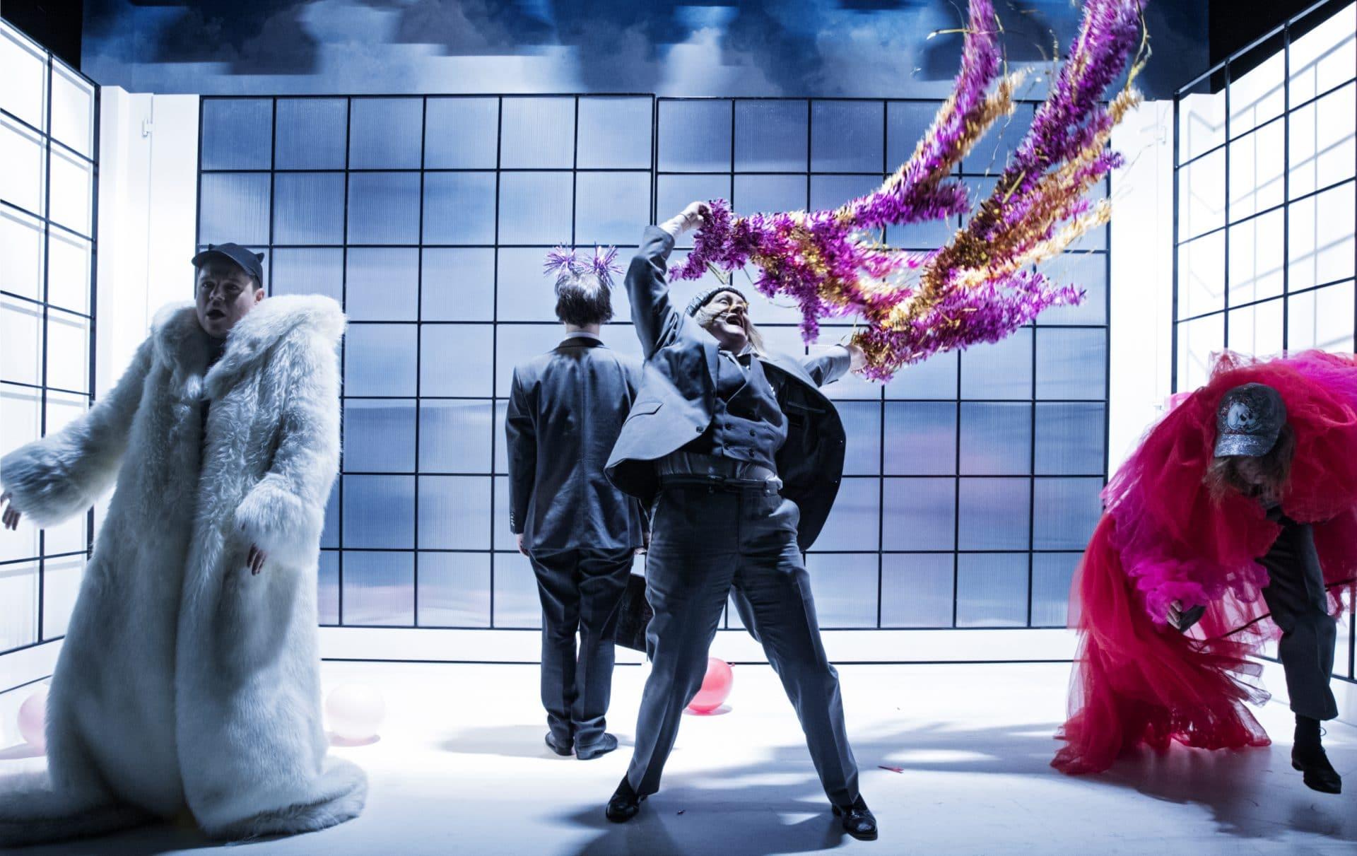 I Prefer Not To / Svenska Teatern / Photo by Cata Portin