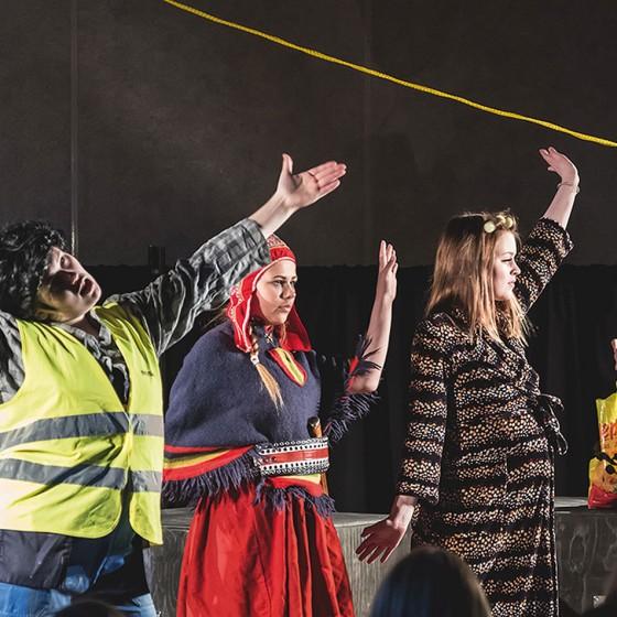 Nuorten teatterifestivaali MURROS